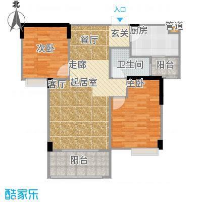 凯乐湘园E5户型