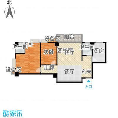 楚天馨苑80.00㎡C1户型
