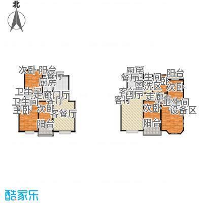 滨江美寓130.00㎡5-37-3户型