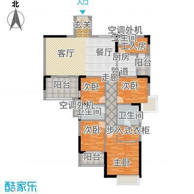 鼎盛时代广场户型4室1厅3卫1厨