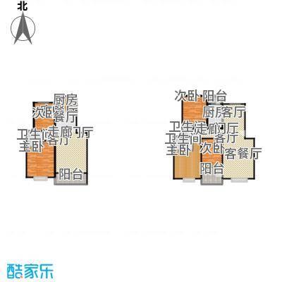 滨江美寓80.00㎡5-17-1户型