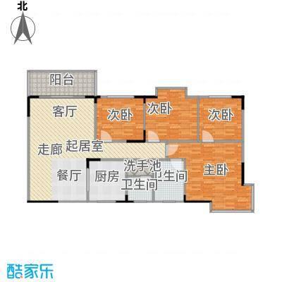 上林国际134.07㎡3栋A户型