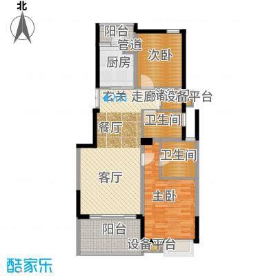 茂华国际湘2L-A2户型
