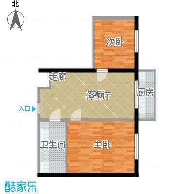 万鑫花园62.00㎡-2户型