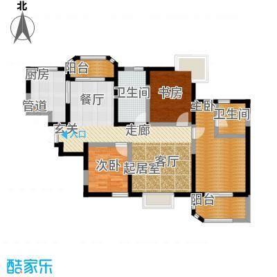 香克林小镇135.80㎡10#楼2单元11#楼2单元户型