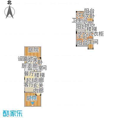 万科松山湖1号户型4室4卫