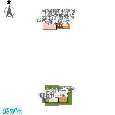 锋尚国际公寓190.00㎡C6户型