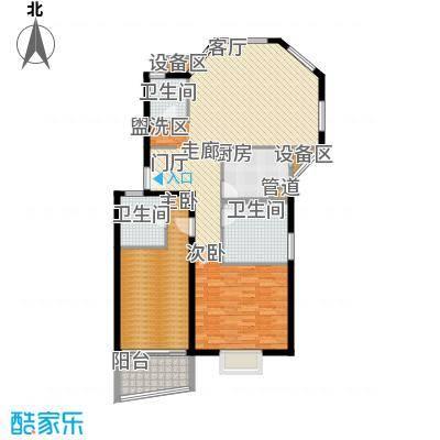 丽景华庭81.00㎡方户型
