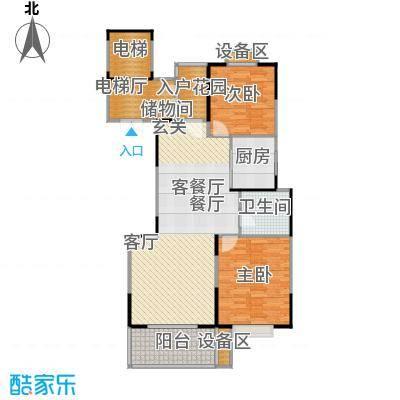鼎业国际花园97.38㎡9928m2户型