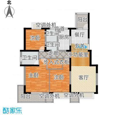 香港映象135.78㎡C1户型