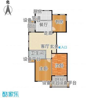 荣安和院户型3室1厅1卫1厨