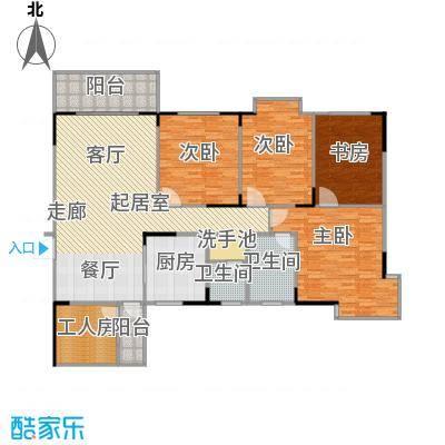 上林国际159.64㎡2栋A户型