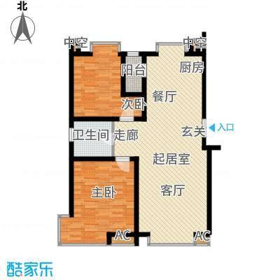 德馨苑87.00㎡房型户型