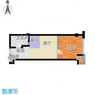 华兴彼得公寓53.00㎡53~户型