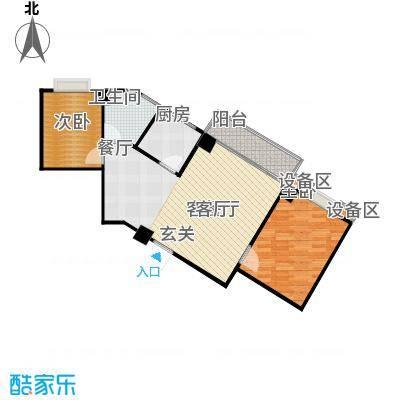 楚天馨苑80.00㎡C4户型