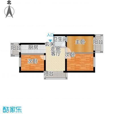美晨家园78.67㎡-(使用面积)-240套户型