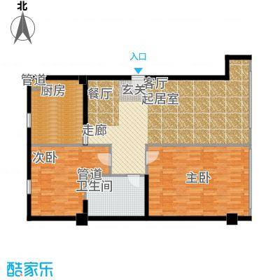 第一上海广场110.00㎡E2户型