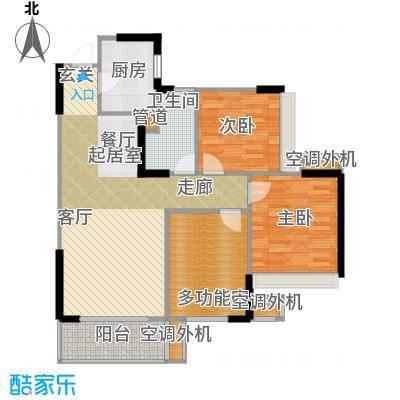 双水湾89.00㎡格调上海B1-1户型