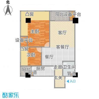 紫薇尚层89.00㎡精典B1户型