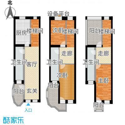 汤城香格里145.00㎡G三层户型