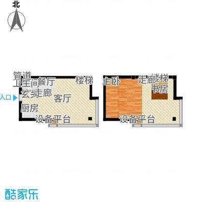 吴越新天广场70.24㎡-户型