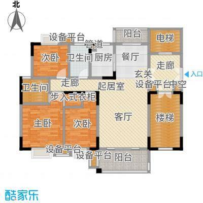 鑫远・湘府东苑鑫远a派122.63㎡D2户型