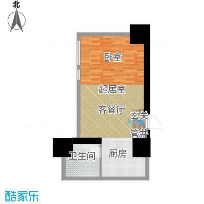如意商务公寓56.00㎡J户型