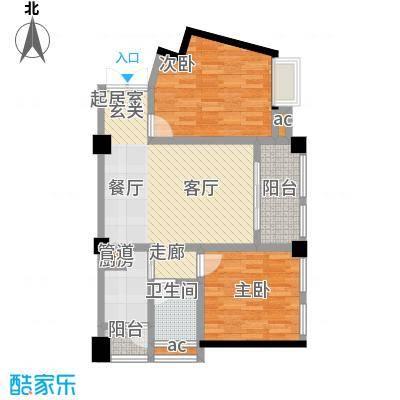 上海城81.69㎡--34套户型