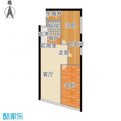 凯悦公寓107.00㎡户型