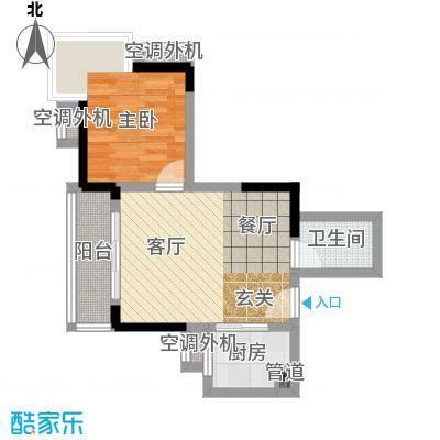 大川国际30.68㎡房型户型