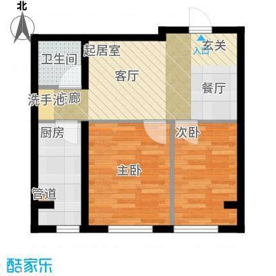 千缘爱语城61.00㎡J户型