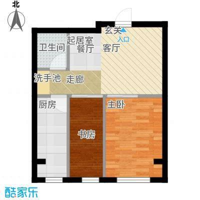 千缘爱语城52.00㎡K户型