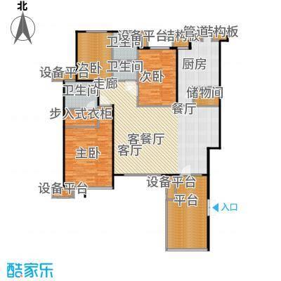 万科新榆公馆二期住宅洋房-3户型