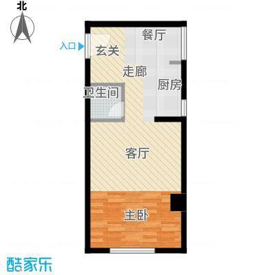 九城尚都公寓B户型