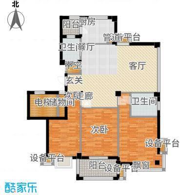 君悦龙庭130.00㎡G户型