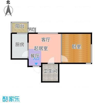 黎明东馨园44.90㎡房型户型