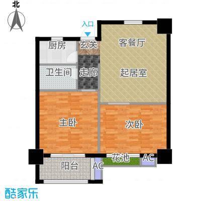 军城・港湾85.32㎡III公寓户型