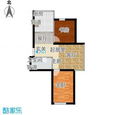 鑫丰俪城71.00㎡房型户型
