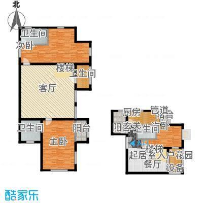 中润世纪广场210.00㎡B1B401户型