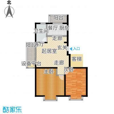 辰宇枫景瑞阁70.00㎡房型户型