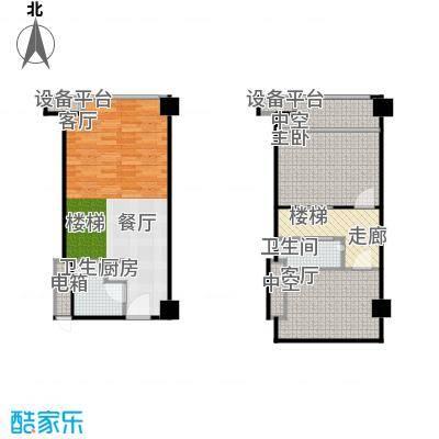 长江壹号47.00㎡户型