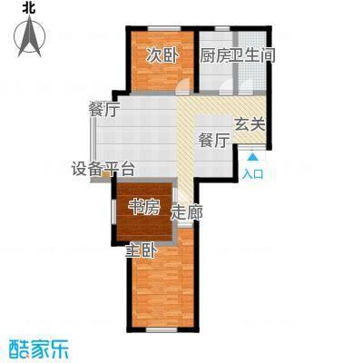 东森总部商务广场119.63㎡房型户型