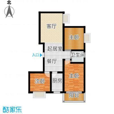 清水澜庭111.08㎡A3户型