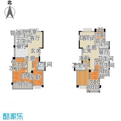 中江国际花城户型8室5卫1厨
