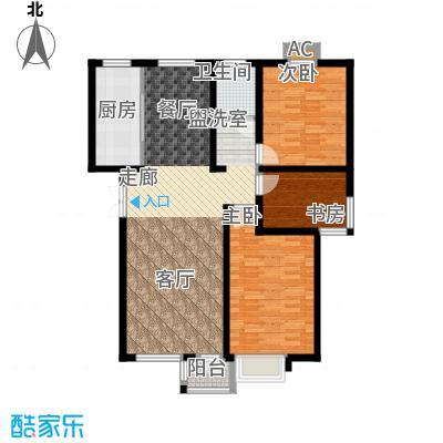 绿地长春上海城二期110.00㎡N2户型