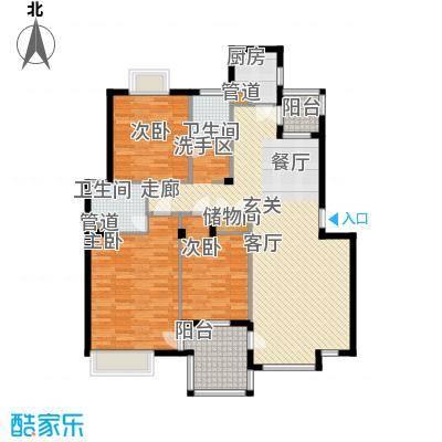 万科四季花城DN3a-2Z户型