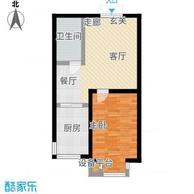 东森总部商务广场71.49㎡房型户型