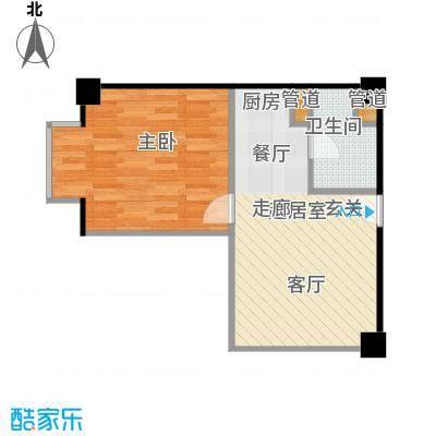 长江国际公寓78.00㎡户型