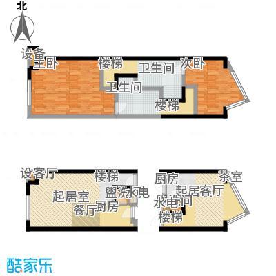 开建阳光馨苑户型2室2卫