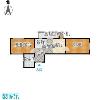 毕加索的树屋53.33㎡房型户型